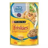 Sachê Friskies file de peixe ao molho 85g