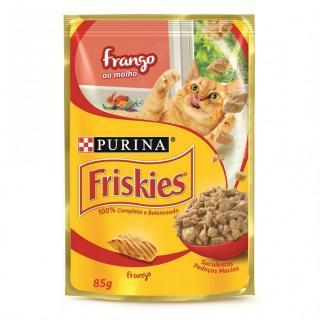 Sachê Friskies Frango ao molho 85g