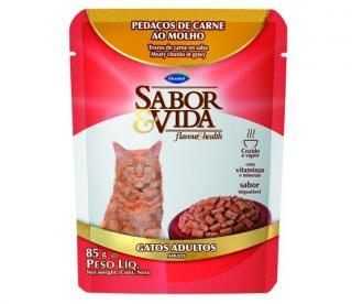 Sache Sabor&vida Carne ao Molho 85g
