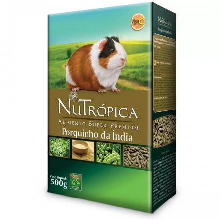 Ração Nutropica Porquinho da India Natural Adulto 500gr