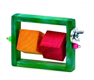 R-rola Cubo Pequeno Kakatoo - Aquapet