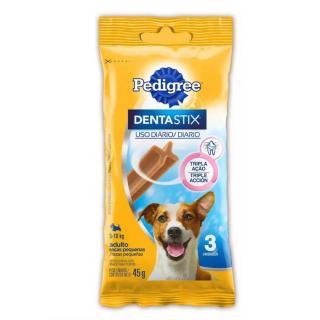 Petisco Dentastix Raças Pequenas 3unit 45g Pedigree - Full