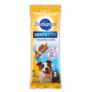 Petisco Dentastix Raça Média 3unit 75g Pedigree - Full