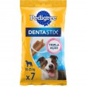 Petisco Pedigree Dentastix Raça Média 7 Unidades - 180g