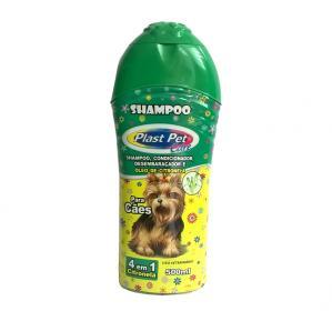 Shampoo E Cond. 4x1 Citronela Plast Pet Care