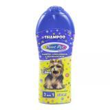 Shampoo 3 em 1 500ml para caes - Plast Pet Care