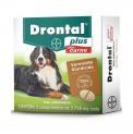 Vermifugo Drontal Plus Cães 15 a 35kg sabor carne c/2 comp