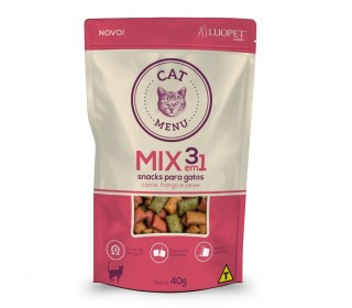 Petisco Cat Menu Mix 3em1 40g