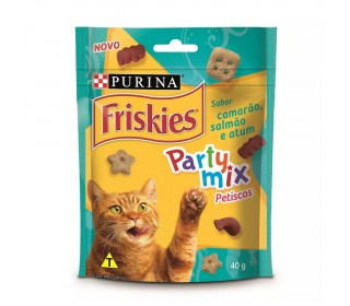 Friskies Party Mix Camarao, Salmao E Atum 40g
