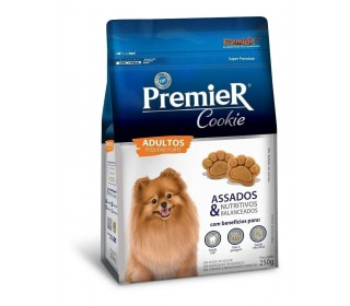 Premier Cookie Caes Adult Racas Pequenas 250g